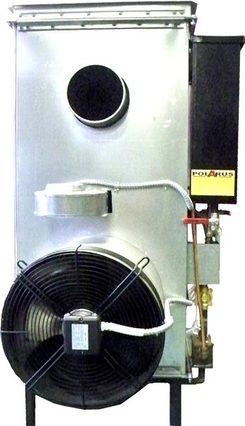 Печь на отработанном масле POLARUS P11D