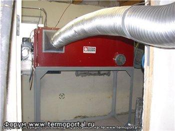 Фотографии: воздухонагреватели на отработанном масле