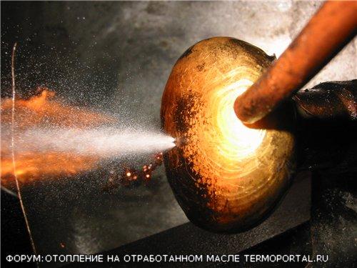 Как сделать горелку на отработанном масле Бабингтона своими руками